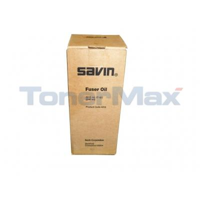 SAVIN UNIVERSAL FUSER OIL BLACK
